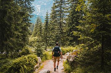 Hiking Trail North-America