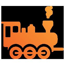 Train & Railway Travel Icon