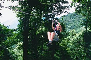 Sky Adventures Ziplining