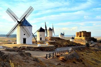 windmill spain