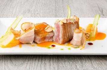 tuna menu spain