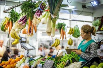 triana food market spain