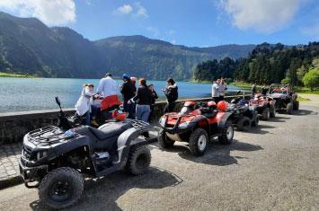 quad lake azores