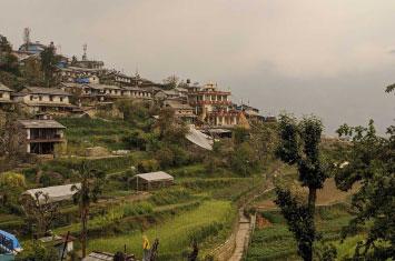 nepal village local