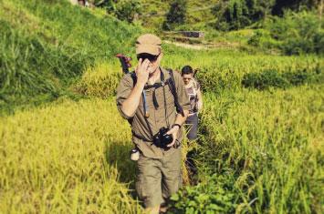 nepal trek field