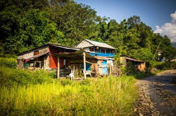 nepal local village