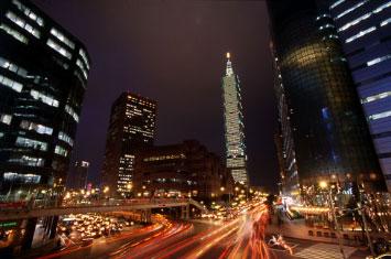 taiwan night