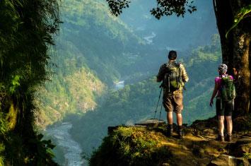 nepal valley trek