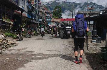 nepal trek city