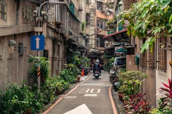 taiwan taipei street