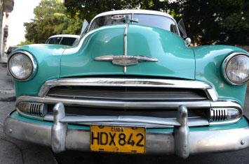 cuba vintage car