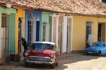 cuba trinidad street