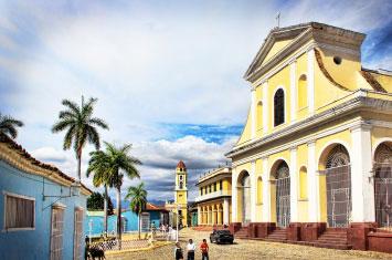 cuba trinidad old town