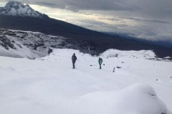 snow kilimanjaro