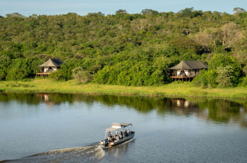 rwanda lake hotel