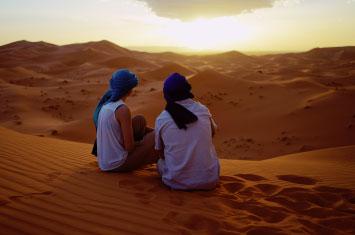 merzouga sunrise morocco